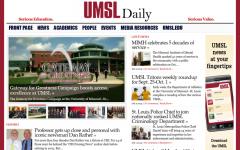 UMSL Newsroom Top