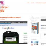 Mobile Web Slinger Website 2 on PlumbWebSlinger.com