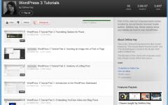 YouTube WordPress Playlist