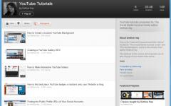 YouTube Tutorials Playlist