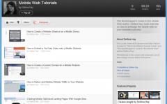 Mobile Web Videos