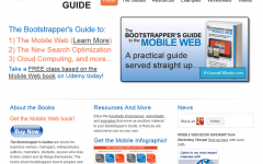 Bootstrappers Guide Website 1