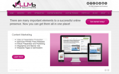 Plumb Web Solutions Website