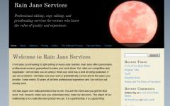 Rain Jane Services