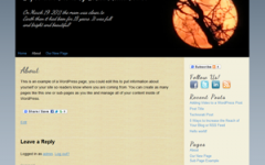 Supermoon WordPress Theme 2